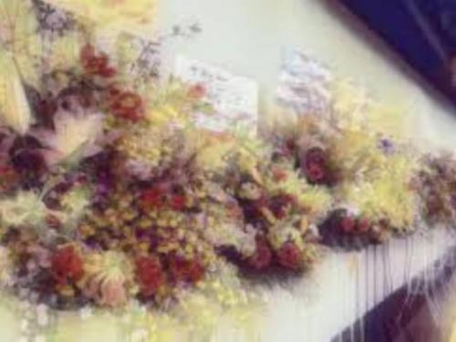 スタンド花の写真